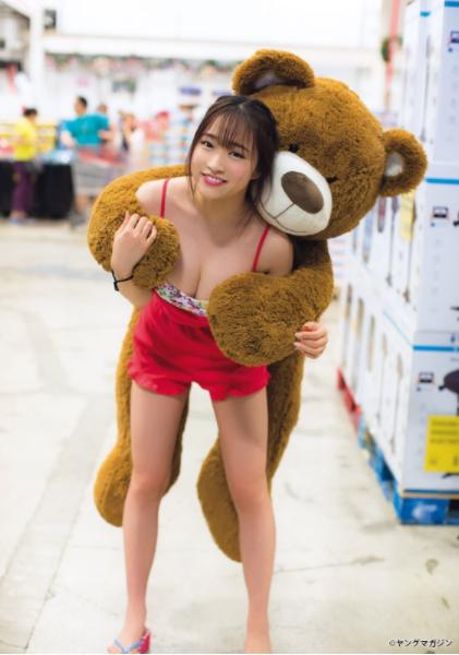 はるかぜ.(19)Iカップデカ乳が抜ける水着姿ww【エロ画像】 表紙