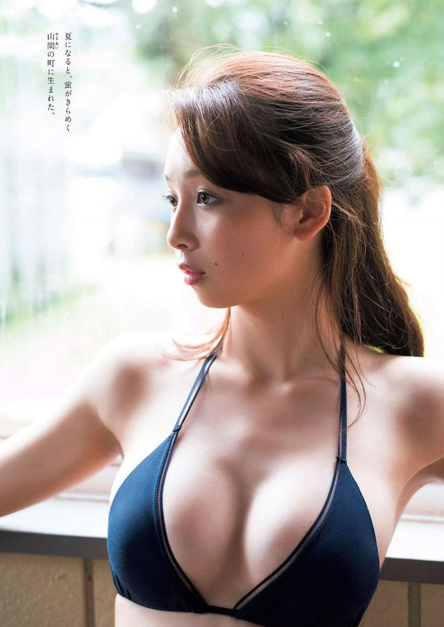 華村あすか(18)新人スイムスーツギャルがスリム美女でエロい!!!!!!【エロ画像】