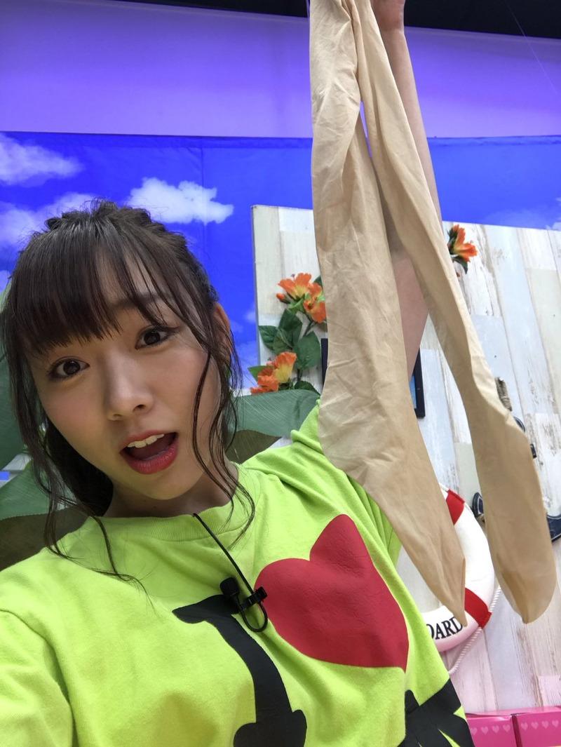 須田亜香里(26)がパンスト被りしていてフェチにはたまらないww【エロ画像】