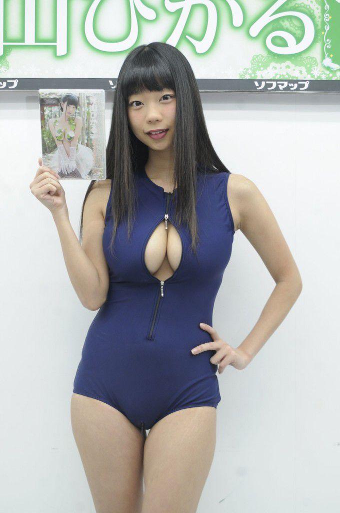 青山ひかる(23)Iカップのケツ汚い娘が相変わらず過激でエロいwww【エロ画像】