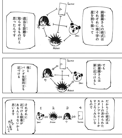 6b3ecf55 - 【ジャンプ39号】呪術廻戦 第156話 きらきら星