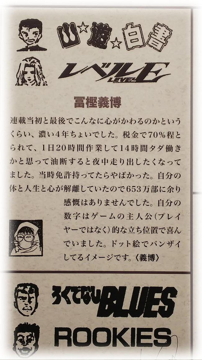 幽遊白書が連載終了した時の冨樫先生の年齢wwww