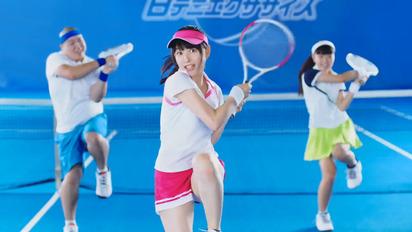 桜井日奈子 白猫テニスCM