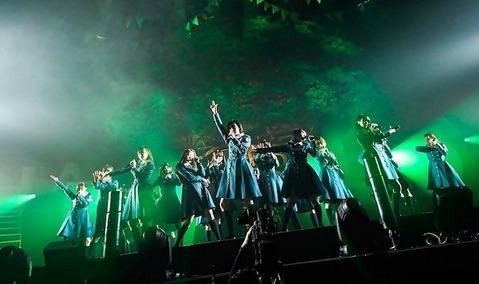 欅坂46のライブ