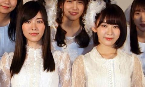 SKE48松井珠理奈 HKT48宮脇咲良