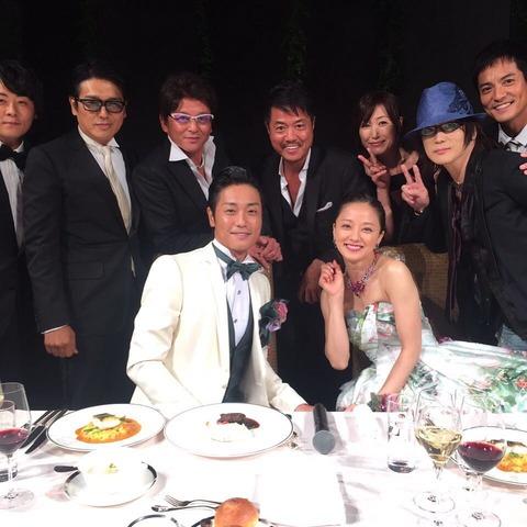 永井大の披露宴に出席する高知東生