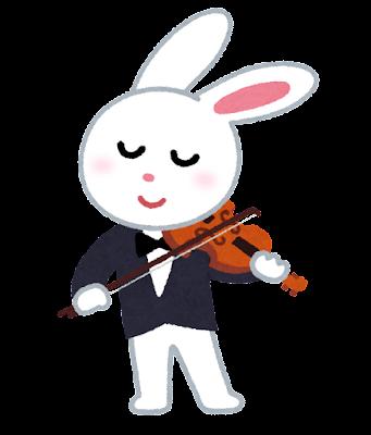 musician_violin_usagi