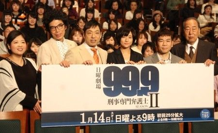 【視聴率】嵐・松本潤主演「99.9」第2話は18・0%