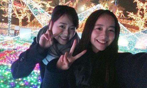 福原遥さんが堀田真由、今田美桜と魅惑のオフショット公開「可愛さ最強!」wwwwww
