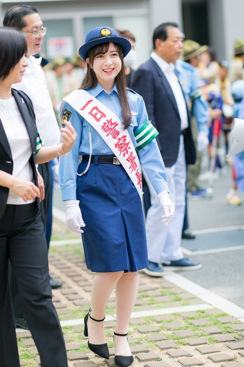 【AKB48】永野芹佳(17)さん、大阪府警の一日署長になりハロプロをディスるwwwwwww
