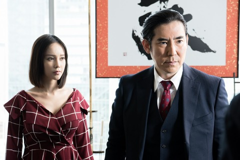 伊藤ゆみ ドラマ「ハゲタカ」で安定のセクシー秘書ぶり披露