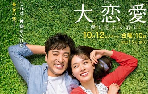 【視聴率】戸田恵梨香主演「大恋愛」バレーで1時間遅れたのにポイントアップwwwwww