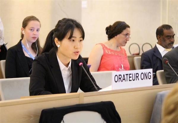 【国連人権理事会】我那覇真子氏「表現の自由が活動家やメディアに脅かされている」=「被害者のふりをしている人たちが、実は加害者」