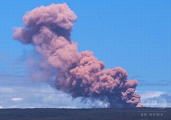 【キラウエア火山噴火】1万人に避難勧告 地表に亀裂、溶岩噴出=ハワイ島