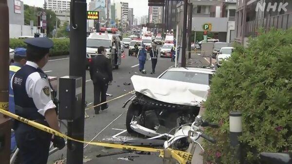 【東京太田】職質無視し白いベンツ暴走 歩道の女性巻き込まれ死亡=川崎の「不審な女」逮捕
