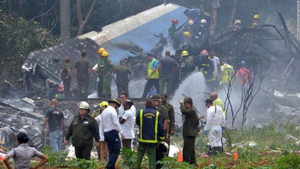 【キューバ・ハバナ】離陸直後に旅客機墜落 乗員・乗客113人 国家元首「多くの犠牲者…」