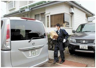 【宮城石巻】ユリカモメに矢 70代男を聴取し家宅捜索=鳥獣保護法違反容疑
