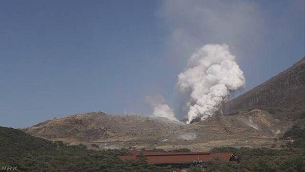 【鹿児島・宮崎】霧島連山 硫黄山噴火 警戒レベル3に引き上げ