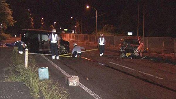 【山形上山】80代夫婦、国道逆走で正面衝突 5人死傷