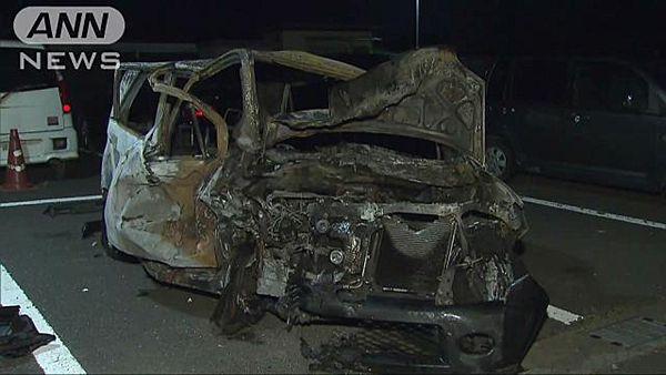 【茨城八千代】覆面パトカーを追い越し逃走 対向車と衝突し男性死亡=24歳の女性重傷