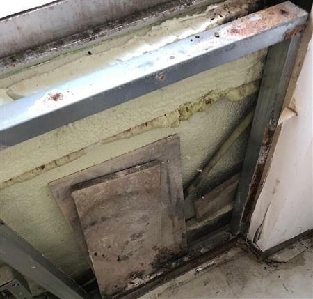 【前田建設 不法投棄】「日本航空学園」の校舎壁内に石膏ボード廃材=硫化水素発生の可能性