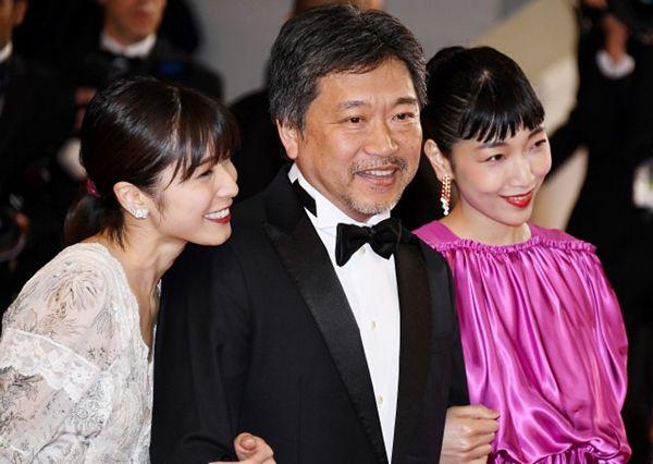 【カンヌ映画祭】是枝裕和監督「万引き家族」、最高賞パルムドール 日本人21年ぶり、『うなぎ』以来