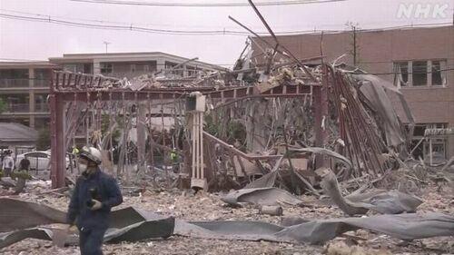 【福島郡山】「しゃぶしゃぶ温野菜 郡山新さくら通り店」で爆発 1人死亡、17人負傷