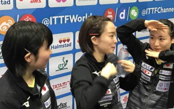【インチキ世界卓球】南北合同チームのメダル確定 平野美宇「そんなのあるんだ」、石川佳純「いきなりなんでビックリ」、水谷隼「政治利用はどうか…」