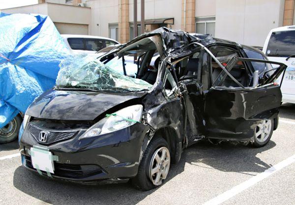 【岡山北区】中2男女5人死傷、後部座席から酎ハイ空き缶 運転者不明
