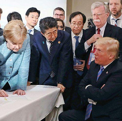 【米紙WSJ】トランプ大統領、G7で「安倍首相はすぐ退陣」 移民で脅し?