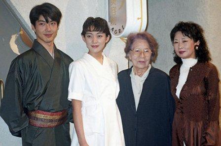 吉行あぐりさん死去、107歳 吉行和子・故吉行淳之介氏の母=NHK「あぐり」ヒロイン、田中美里さん「憧れの女性」