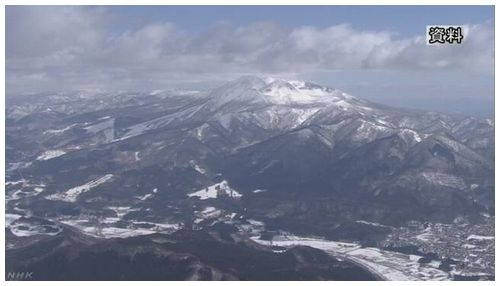 【秋田駒ヶ岳】6日から低周波地震続く 火山活動の高まり示す可能性=気象庁が注意呼びかけ