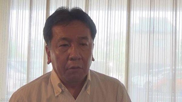 【被災地より安倍叩き】立民・枝野代表「内閣不信任案」提出へ ネットで非難殺到