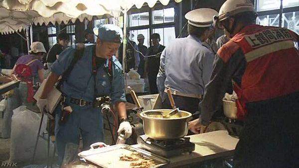 【相模原 東林間神社】祭りの露店でカセットボンベ爆発、男女9人負傷