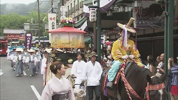 【猛暑で中止】京都祇園祭「花傘巡行」 八坂神社「熱中症の恐れ配慮」=「英断」と評価の声