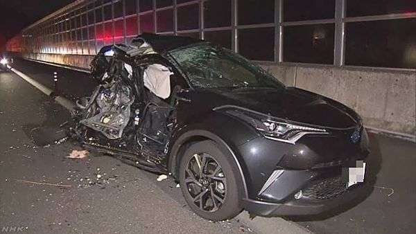 【静岡富士】新東名で3台玉突き事故 母娘2人死亡=大型トラック運転手逮捕「前をよく見ていなかった」