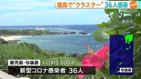 【GoToコロナ】与論島でクラスター36人感染、院内感染も 「来島自粛」を…