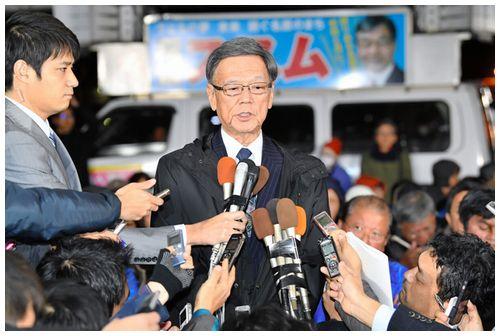 【都合の良い民意】落選の稲嶺氏「辺野古移設、はぐらかされた」 翁長知事「争点はずされた」
