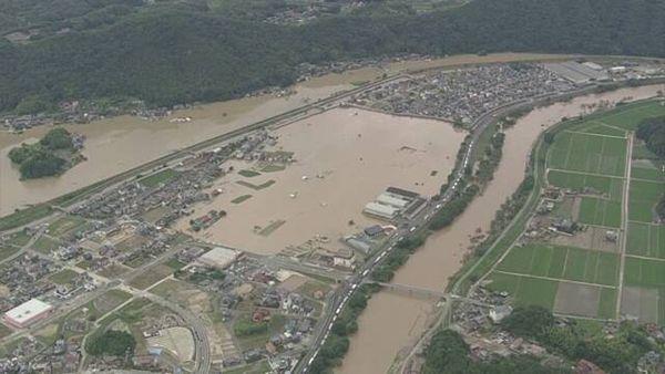 【西日本豪雨】88人死亡 4人重体 58人不明 佐賀県南部で震度3地震=土砂災害に警戒を