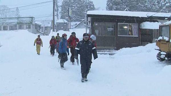 【新潟湯沢】バックカントリースキーの男性2人行方不明=かぐらスキー場