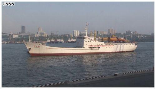 """【ロシア】""""万景峰号""""制裁違反で入港拒否 燃料切れで遭難信号=ウラジオストク"""