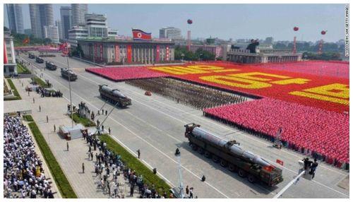 【米韓分断】北朝鮮、五輪開幕前日に軍事パレード=足元見透かされる韓国