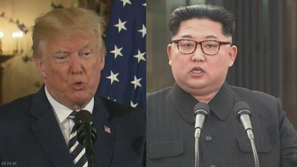 【緊迫】米朝首脳会談中止理由は「あからさまな敵意」=トランプ大統領、軍事的体制整えるよう命令