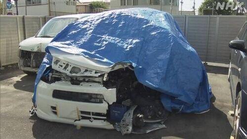 【茨城土浦】無免許運転で2人死亡、同乗者を救護せず逃走 19歳少年逮捕=盗難車?
