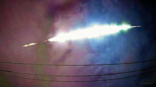 【関東上空に巨大火球】数分後に爆発音 SNSに投稿相次ぐ=ネット「ヨハネの黙示録か」