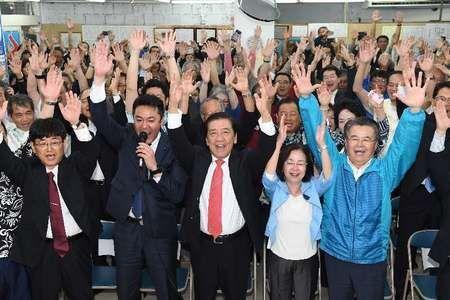 【オール沖縄連敗】沖縄市長選 桑江氏再選、自公維で連勝=民意、偏向メディアに洗脳されず