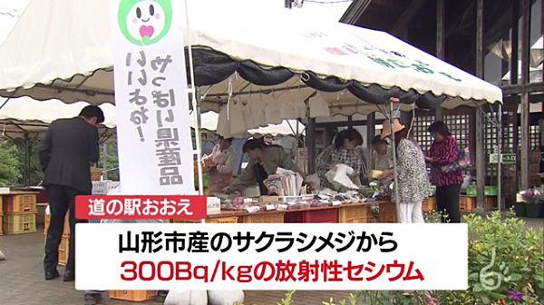 【山形 道の駅】野生キノコ「サクラシメジ」 基準値3倍超え放射性セシウム=自主回収
