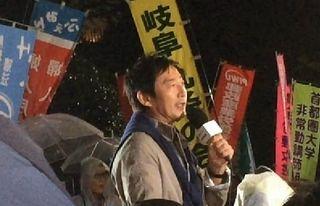 【神輿は軽いに限る】国会前、石田純一さん「戦争は文化ではありません」=ネット「不倫は文化かよw」