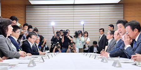 【日本終了】西日本豪雨の間の安倍首相の行動がやばいwwwwww