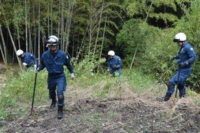 【事件】山中に女性の遺体、浜松市の20代看護師か
